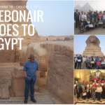 Debonair goes to Egypt